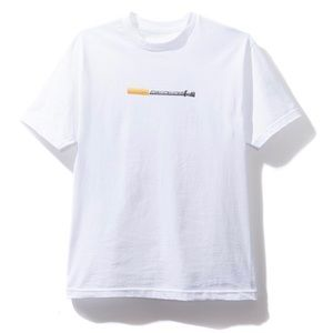 Anti social social club cigz white tee